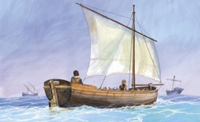 Medieval Life Boat Carson 789033