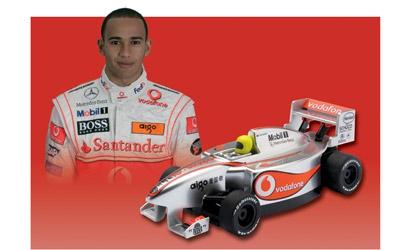 Merc.McLaren Hamilton Micro Carson G2067