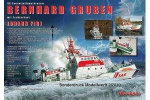 Flyer Bernhard Gruben Seenotrettungskr. Graupner DZ10078
