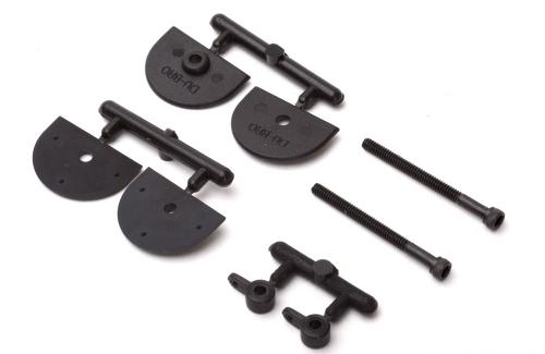 Micro einstellbare Ruderhörner 25mm (2 Stk) DuBro F-DB935