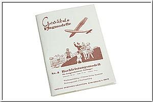 Bauplan MILAN Graupner 1204.3