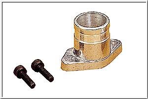 Auspuff-Adapter zu MAX 21 EX- Graupner 1825.37