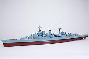 WP Schlachtkreuzer H.M.S HOOD RC Boot Graupner 2096