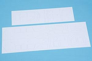 Laserteilesatz (Aufbauten) Graupner 2129.4