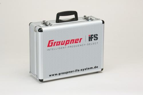 Alu Senderkoffer fürIFS Hands Graupner 23041