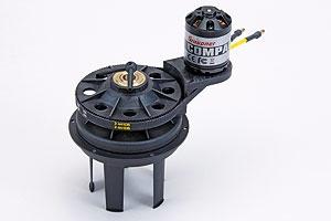 Voit-Schneider-Antrieb mit Brushlessmotor Graupner 2358.BL