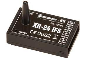 Empfänger XR-24 IFS V3 Graupner 23603