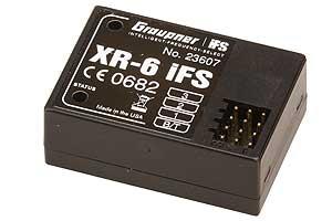 Empfänger XR-6 IFS V3 Graupner 23607