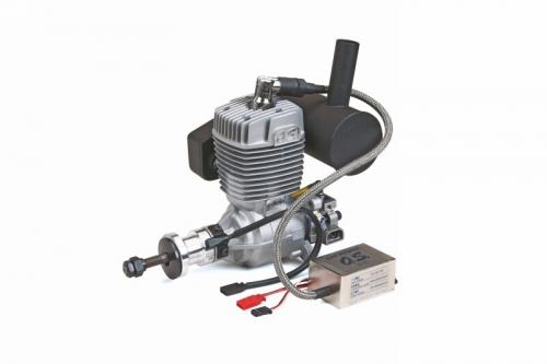 OS GT 33 + E-5030 Schalldämpfer Graupner 2772