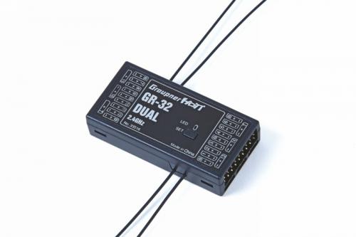 Empfänger GR-32 HoTTDual 2.4 GHz 16 K. Graupner 33516.LOSE