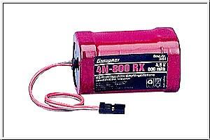 Empfängerakku 4N-800RX quadr. Graupner 3454