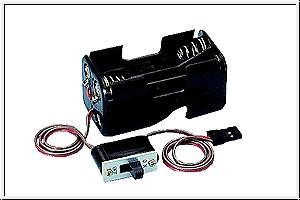 Batteriebox mit Schalterkabel Graupner 3934.2