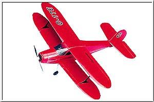 WP BEECH C-17 STAGGERWING,E Graupner 4437