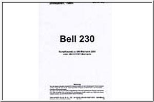 Bauanleitung BELL 230,engl./franz. Graupner 4459.203