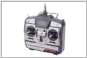 X-412 40 MHz Fernlenkset Graupner 4714