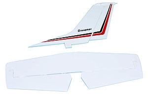 Höhen- und Seitenleitwerk Graupner 6256.4