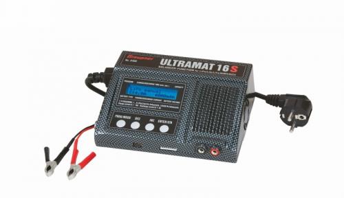 Ultramat 16S Li, Pb,NiMH Ladegerät Graupner 6468