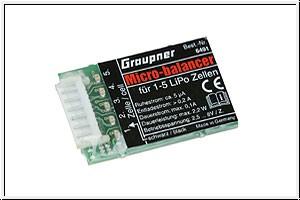Micro-balancer ERSETZT durch 3064 Graupner 6491