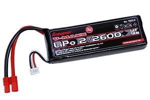 LiPo-Akku V-MAXX 35C2/2600 7,4V G3,5 Graupner 7652.2