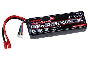 LiPo-Akku V-MAXX 35C4/3200 14 Graupner 7657.4