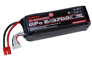 LiPo-Akku V-MAXX 35C6/3700 22 Graupner 7661.6