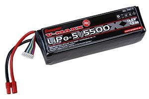 LiPo-Akku V-MAXX 30C5/5400 18 Graupner 7667.5