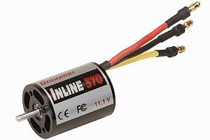 INLINE 370 11,1 VBrushless Motor Graupner 7755
