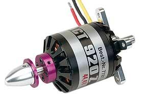 COMPACT 920Z 44,4VBrushless Motor Graupner 7781