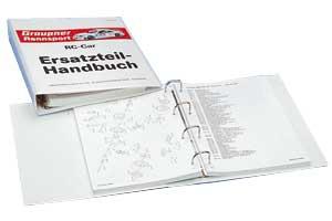 Handbuch für RC-Car-Ersatzteile kpl. Graupner 8010.1