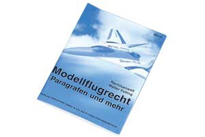 Broschüre Modellflugrecht Graupner 8034.01