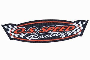 Stoffaufnäher OS Speed Racing Graupner 8043