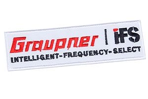 Stoffaufnäher Graupner/IFS Graupner 8070.4