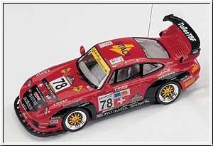 WP PORSCHE 911 GT2,rot mit RC Graupner 90004