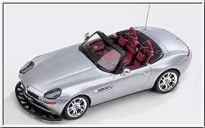 WP BMW Z8, silber mit RC Graupner 90009