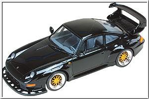 WP PORSCHE 911 GT2,schwarz mi Graupner 90010