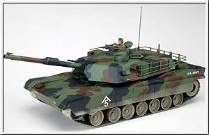 WP RC-PANZER M1A1 ABRAMS, grü Graupner 90035