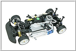 WP HYPER GPX4 4WE RTR m.RC,Mo Graupner 90043.RTR