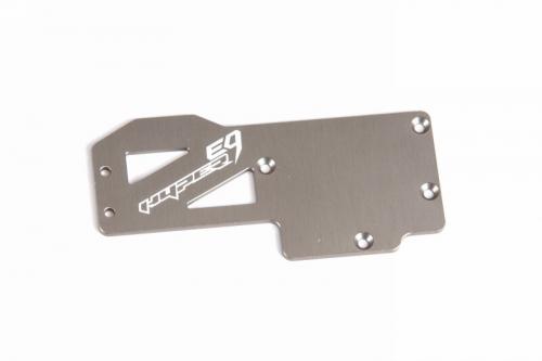 Aluminium-Radioplatte Hyper 9 Brushless Graupner 90049.203