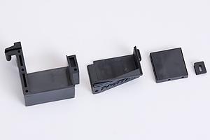 Servohalter und Empfängerbox Hyper 9 Bru Graupner 90049.205