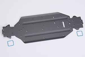Alu-Chassis Hyper 9Brushless Graupner 90049.210