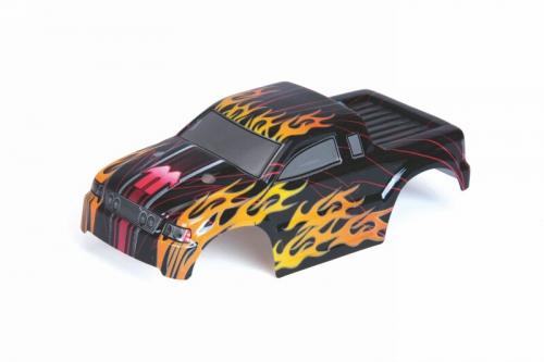 Karosserie 1/24 MonsterFlash schwarz/rot Graupner 90120.34