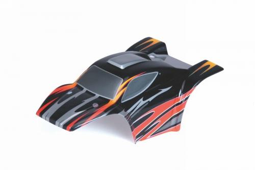 Karosserie Baja SC XXS schwarz/rot Graupner 90120.37