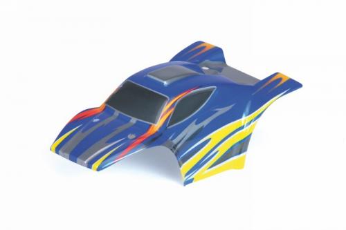Karosserie Baja SC XXS blau/gelb Graupner 90120.38