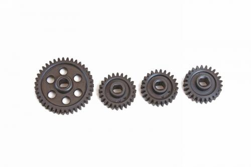 Stahl Getriebe für MT6 seitlich Graupner 90162.101