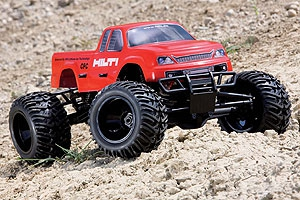 WP MONSTERTRUCK 4WDM 1:8 Typ HILTI Graupner 90165.RTR