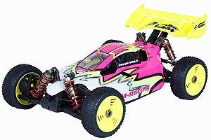 FLASH 3.0 BRUSHLESS RACE BUGGY 4WD RTR 2,4GHz GM Racing Flash 3.0 Race RTR Graupner 90170.RTR