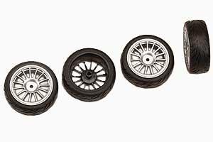Reifen, verklebt (4Stk) Graupner 90300.41