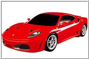WP FERRARI F430 GT2rot 1:14 4 Graupner 90320