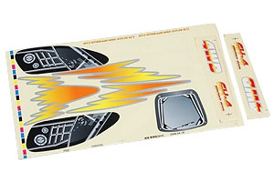 Aufkleberset Karosserie Flash Graupner 90502.67