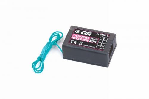 Standard Empfänger FM 40MHz für XG-6 Graupner 94010.1